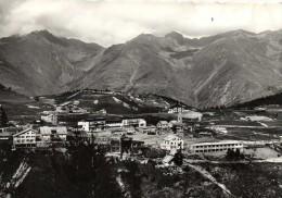 AURON  Alt1600m Vue Generale Du Plateau Benne Du Telepherique En Marche Au Fond Chaine Du TINIBRAS (3031m) Recto Verso - Autres Communes