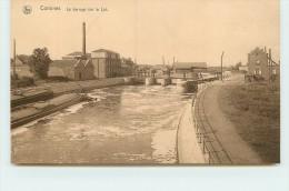 COMINES  - Le Barrage Sur La Lys. (péniche). - Comines-Warneton - Komen-Waasten