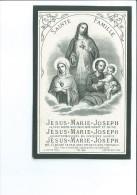 ANNE ROPPE VEUVE WALTHERE BOTTY + OREYE 1880 80 ANS IMP WAREMME FRAIPONT RENARD - Devotion Images