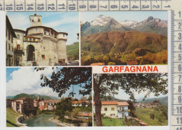 Garfagnana Pittoresca  Castelnuovo / Alpi Apuane / Camporgiano  Vedute Saluti No Vg - Lucca