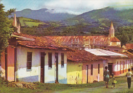 Costa Rica PPC Tipico Pueblecito Costarricense Heredia Costa Rica Tarjeta Postal (1969) - 151 (2 Scans) - Costa Rica