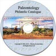 PALEONTOLOGY Stamp Catalogue (Dinosaurs, Prehistoric & Extinct Animals, Fossils) - Motivkataloge