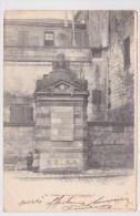 (RECTO / VERSO) COGNAC EN 1904 - N° 19 - FONTAINE FRANCOIS 1er AVEC ENFANTS - Cognac
