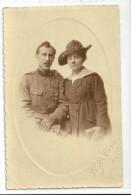 Photographie  d'un  Couple       a  situer       (  Photographe  H. de Clercy  )