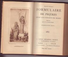 NOUVEAU FORMULAIRE DE PRIERES (N° 87) Dédié Aux Enfants De Marie - Religion