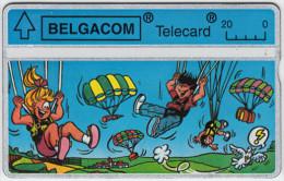 BELGIUM A-644 Hologram Belgacom - Cartoon - 228B - used