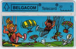 BELGIUM A-645 Hologram Belgacom - Cartoon - 228A - used