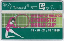 BELGIUM A-647 Hologram Belgacom - Sport, Event, Gymnastics - 009H - used