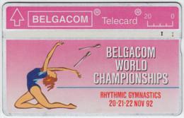 BELGIUM A-648 Hologram Belgacom - Sport, Event, Gymnastics - 230F - used