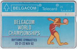 BELGIUM A-649 Hologram Belgacom - Sport, Event, Gymnastics - 230B - used