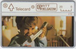 BELGIUM A-651 Hologram Belgacom - Communication, Telephone - 205G - used