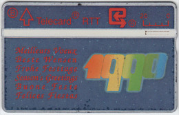 BELGIUM A-655 Hologram Belgacom - 911K - used