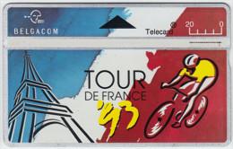 BELGIUM A-656 Hologram Belgacom - Sport, Event, Cycling, Tour de France - 325E - used