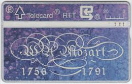 BELGIUM A-657 Hologram Belgacom - Musician, Wolfgang Amadeus Mozart - 105G - used