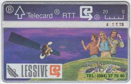 BELGIUM A-659 Hologram Belgacom - Communication, Satellite - 104D - used