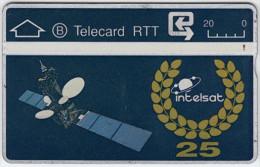 BELGIUM A-667 Hologram Belgacom - Communication, Satellite - 909A - used