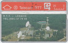BELGIUM A-670 Hologram Belgacom - Communication, Satellite dish - 903E - used