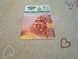 JORDAN - nice chipcard butterfly