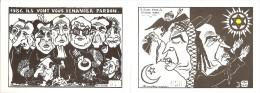 LARDIE  -  2 C. P. Différentes  -  125 Exemplaires Numérotés N°76 Et 56 - Lardie