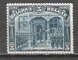 """Belgique - 1915/9 - COB 147  """"Franken"""" - Neuf * - 1915-1920 Albert I"""