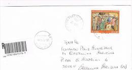 ITALIA (ITALY) - STORIA POSTALE -2004 RACCOMANDATA DA FIRENZE  AFFRANCATA S.GIORGIO -RIF.1157 - 2001-10: Poststempel