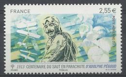France, Adolphe Pégoud, French Aviator, First Parachute Jump, 2014, MNH VF - 1960-.... Nuovi