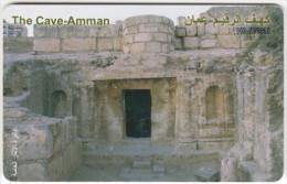 JORDAN A-473 Chip JPP - Culture, Ruins, Cave Amman - used
