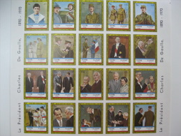 Fujeira-1972-Famous People-De Gaulle-Imperf. - Fujeira
