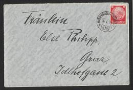 "Bahnpost   ""Mauterndorf - Unzmarkt  Nr. 316""   1939 - Austria"