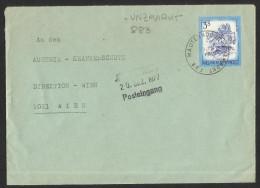 "Bahnpost   ""Mauterndorf - Unzmarkt  Nr. 883""   1977 - Austria"