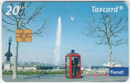 SWITZERLAND A-874 Chip Swisscom - Communication, Phone booth - used