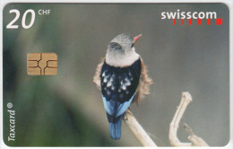 SWITZERLAND A-903 Chip Swisscom - Animal, Bird - used
