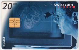 SWITZERLAND A-914 Chip Swisscom - Occupation, Watchmaker - used