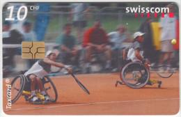 SWITZERLAND A-928 Chip Swisscom - Sport, Handicap, Tennis - used