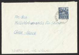 "Bahnpost   ""Wies - Eibiswald - Graz  Nr. 850""   1971 - Austria"