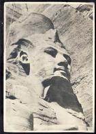 AK   UAR     RAMSES II. GREAT TEMPLE OF ABU SIMBEL - Cartes Postales