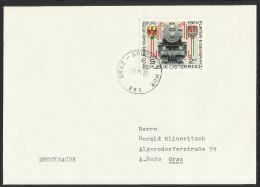 """Bahnpost   """"Graz - Bruck A. D. Mur  Nr. 860""""   1980 - Austria"""