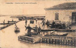 [DC5749] CARTOLINA - RARA - COMACCHIO - LAVORIERO PER LA PESCA DELL'ANGUILLA  - Viaggiata - Old Postcard - Ferrara