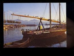 LAUSANNE Vaud : OUCHY : Bateau Voilier LA VAUDOISE Boat Schiff - VD Vaud