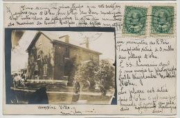 """Real Photo Oka Woodbine Villa Mon """" Chez Nous """" 1905 - Trois-Rivières"""
