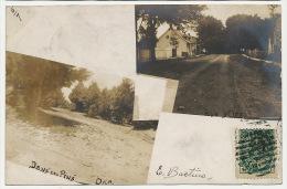 Real Photo Oka  Dans Les Pins Et Rue   1905 - Trois-Rivières