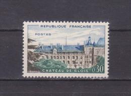 FRANCE / 1960 / Y&T N° 1255 ** : Château De Blois - Gomme D´origine Intacte - Ungebraucht