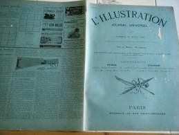 L�Illustration 12 AO�T 1899- AFFAIRE DREYFUS-CATASTROPHE JUVISY-AUDIENCE  PEKIN-VIEUX HONFLEUR   L�ILLUSTRATION N�2946 T