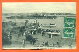 """Dpt  35  Saint Malo  """"  Embarcadere Pour Dinard  """" - Saint Malo"""