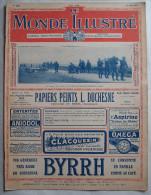 WWI:LE MONDE ILLUSTRE:1916: BRITANNIQUES..LA SOMME..VERDUN..ITALIE-ISO NZO..Etc..