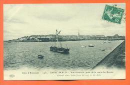 """Dpt  35  Saint Malo  """"  Vue Generale , Prise De La Route Des Bassins  """" - Saint Malo"""