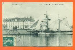 """Dpt  35  Saint Malo  """"  Hotel Franklin  """" Grands Voiliers - Saint Malo"""