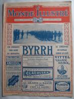 WWI:LE MONDE ILLUSTRE:1916: LES MARSOINS A DOUAUMONT..SERBIE..MONAST IR..BRITANNIQUES...FRONTS ..Etc...