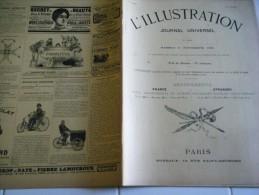 L�Illustration 11 NOVEMBRE 1899-SIAM -LE BELGICA- KLONDYKE- TCHAD-THOUARS-LES PLUMES DU JARS-GARE ST LAZARE