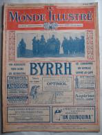 WWI:LE MONDE ILLUSTRE:1917: FLANDRES..ARMEE PORTUGAISE..ARMEE AMERICAINE..Etc..